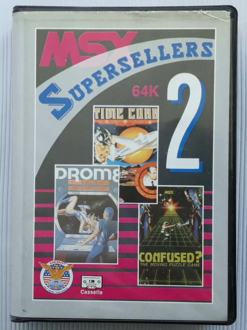 MSX - Supersellers 2 (cassette)
