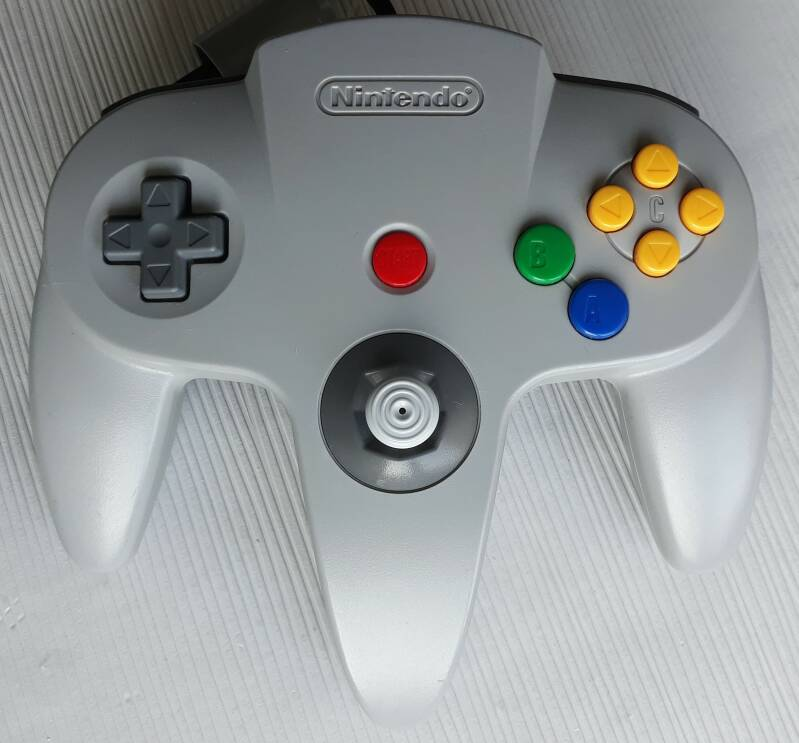 Nintendo 64 - Controller Gray NUS-005 (region free) unboxed very good