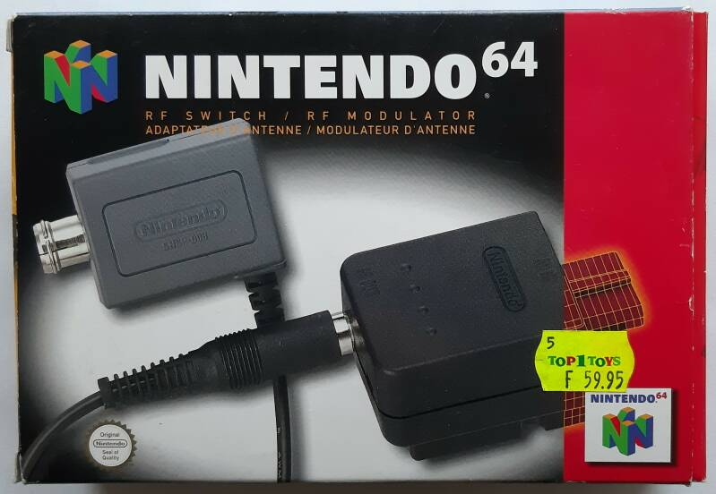 Nintendo 64 - RF Switch / RF Modulator NUS-003 (PAL)