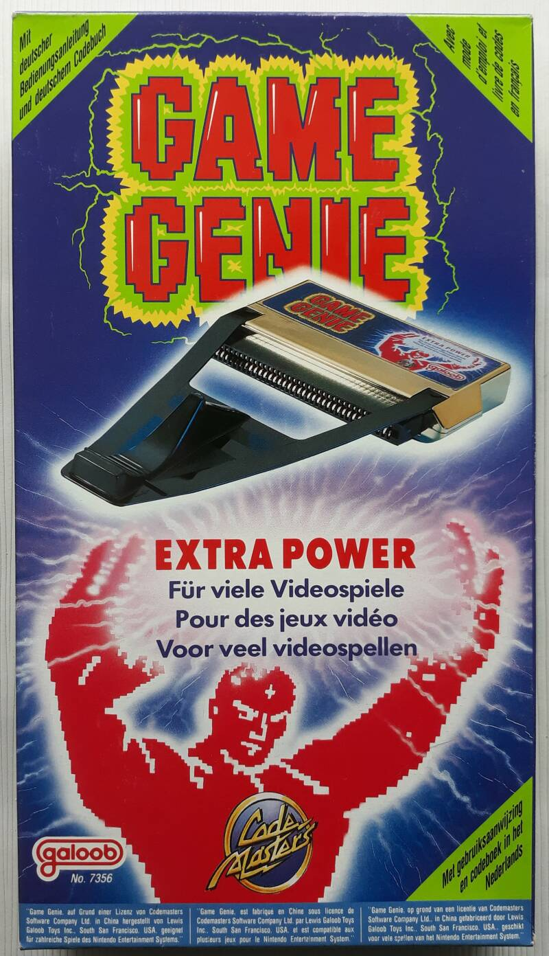 NES - Game Genie (PAL-B) NEW OLD STOCK