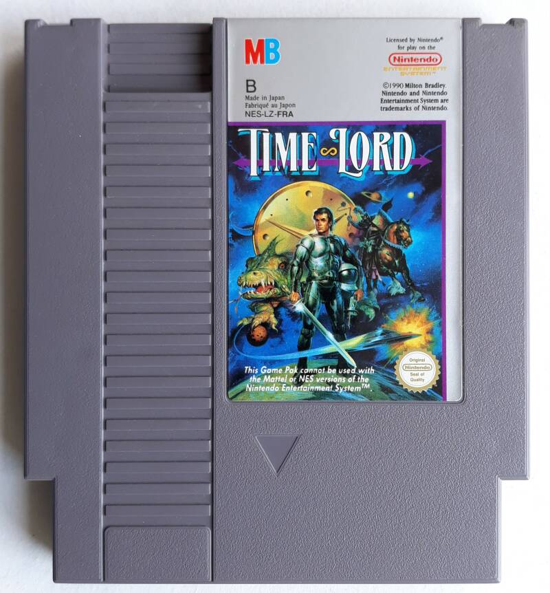 NES - Time Lord (PAL-B) FRA cart
