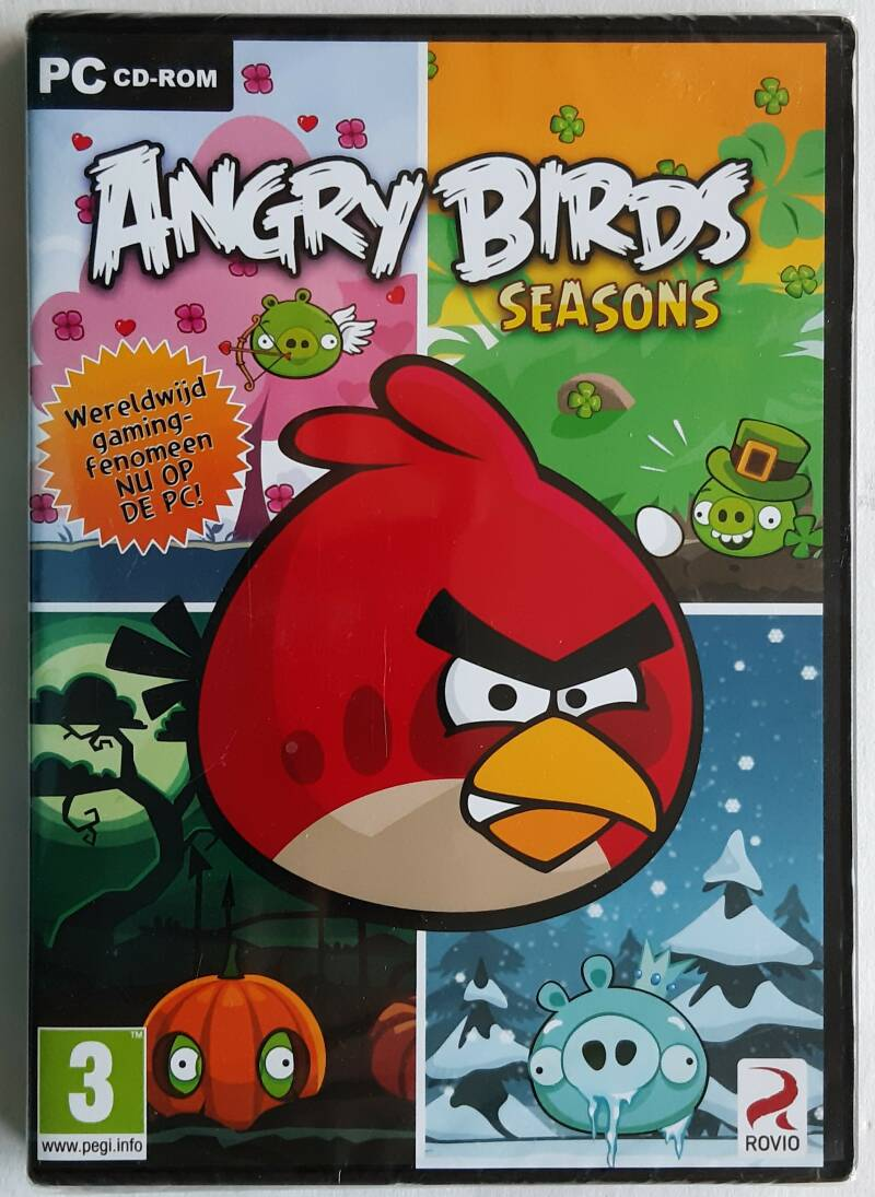 PC - Angry Birds: Seasons (PAL) factory sealed