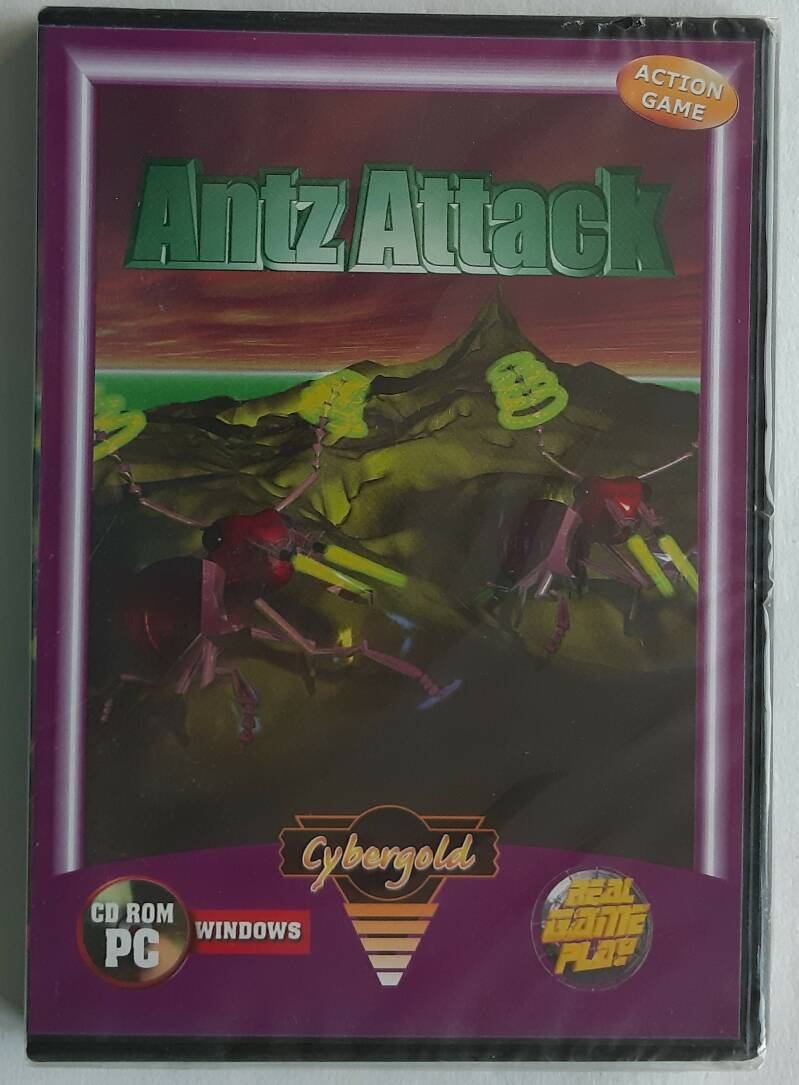 PC - Antz Attack (PAL) factory sealed