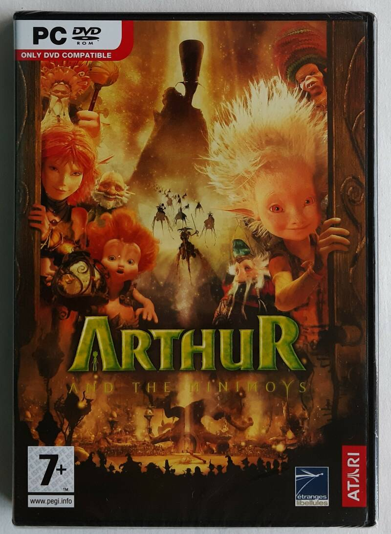 PC - Arthur and the Minimoys (PAL) factory sealed