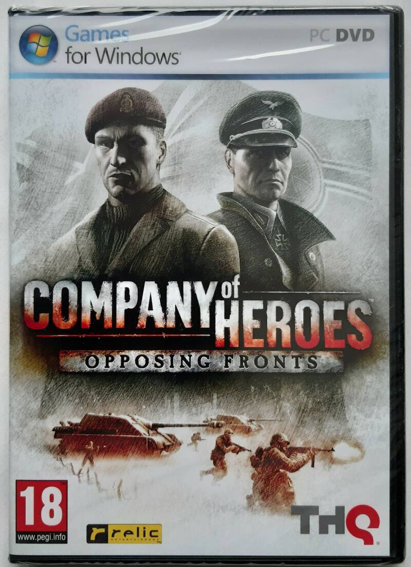 PC - Company of Heroes: Opposing Fronts (PAL) factory sealed