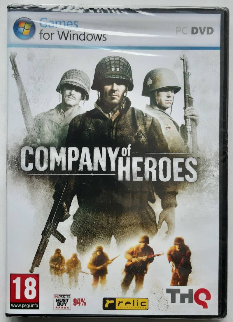 PC - Company of Heroes (PAL) factory sealed