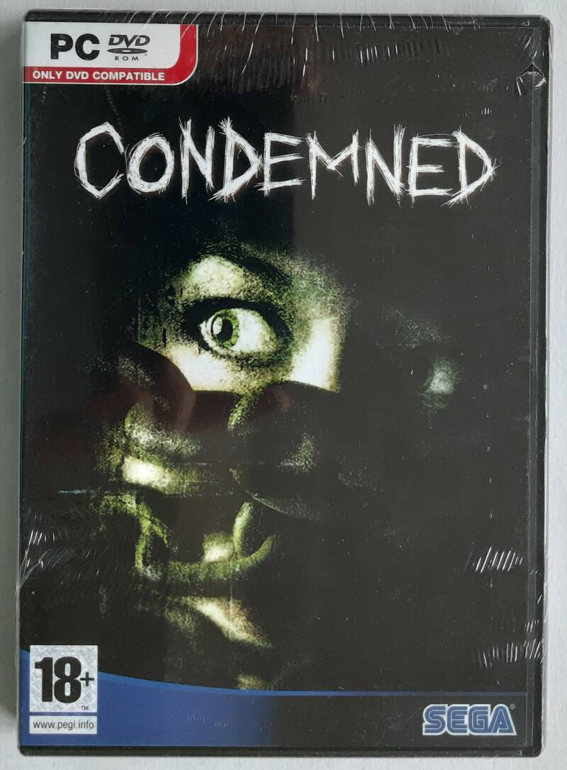PC - Condemned (PAL) shop-sealed
