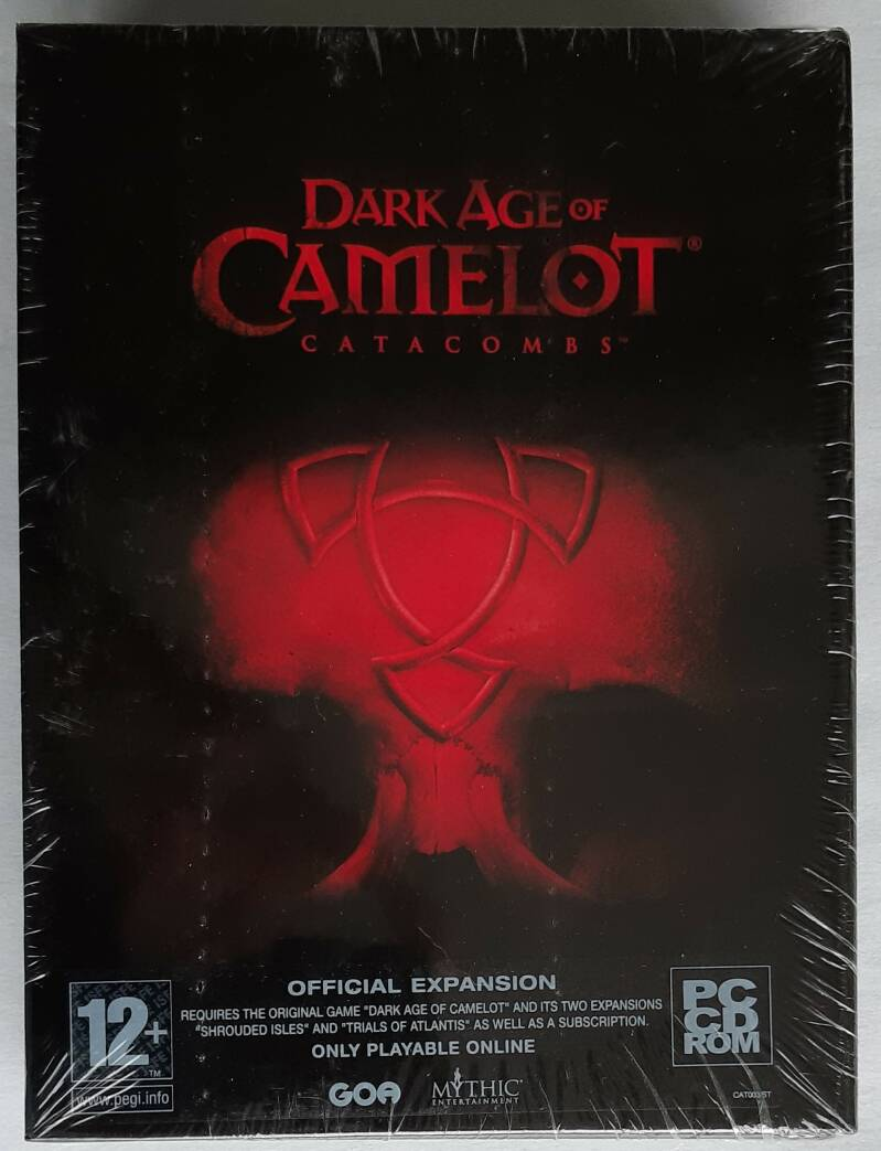 PC - Dark Age of Camelot: Catacombs (PAL) factory sealed
