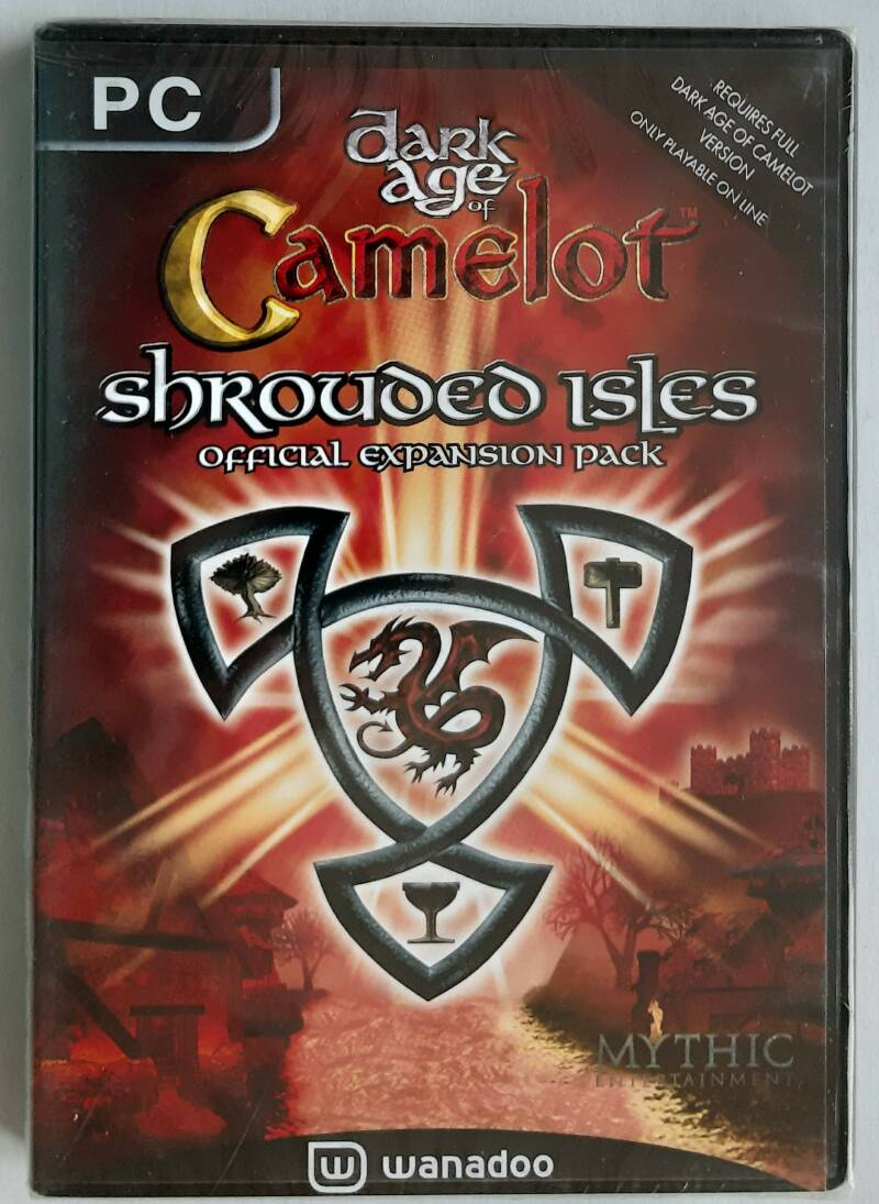 PC - Dark Age of Camelot: Shrouded Isles (PAL) factory sealed