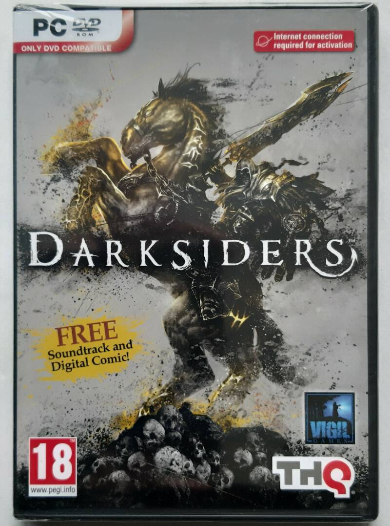 PC - Darksiders (PAL) factory sealed