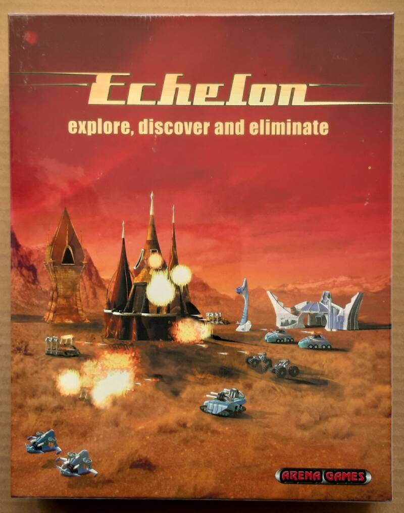 PC - Echelon: Explore, Discover and Eliminate (PAL) big box factory sealed