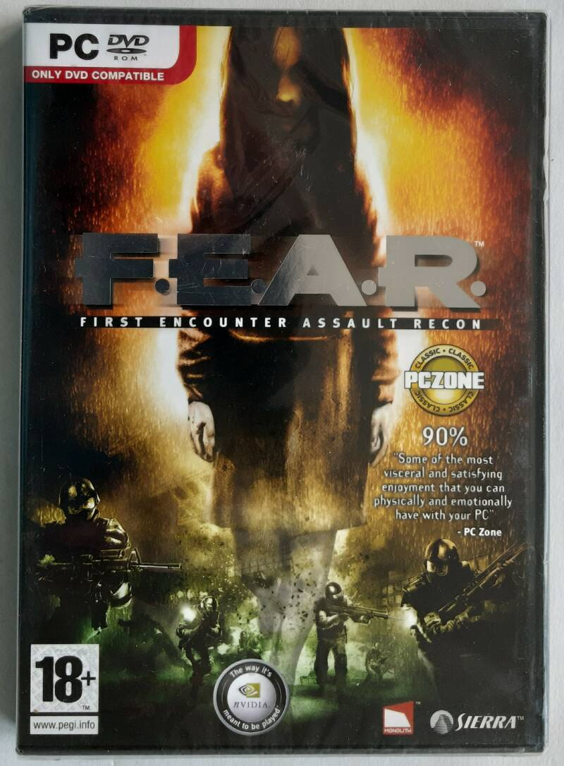 PC - F.E.A.R. (PAL) factory sealed