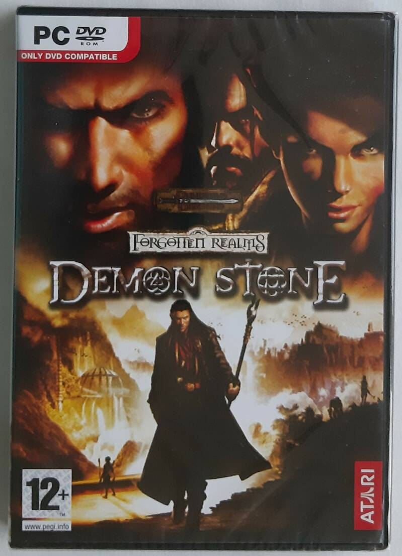 PC - Forgotten Realms: Demon Stone (PAL) factory sealed