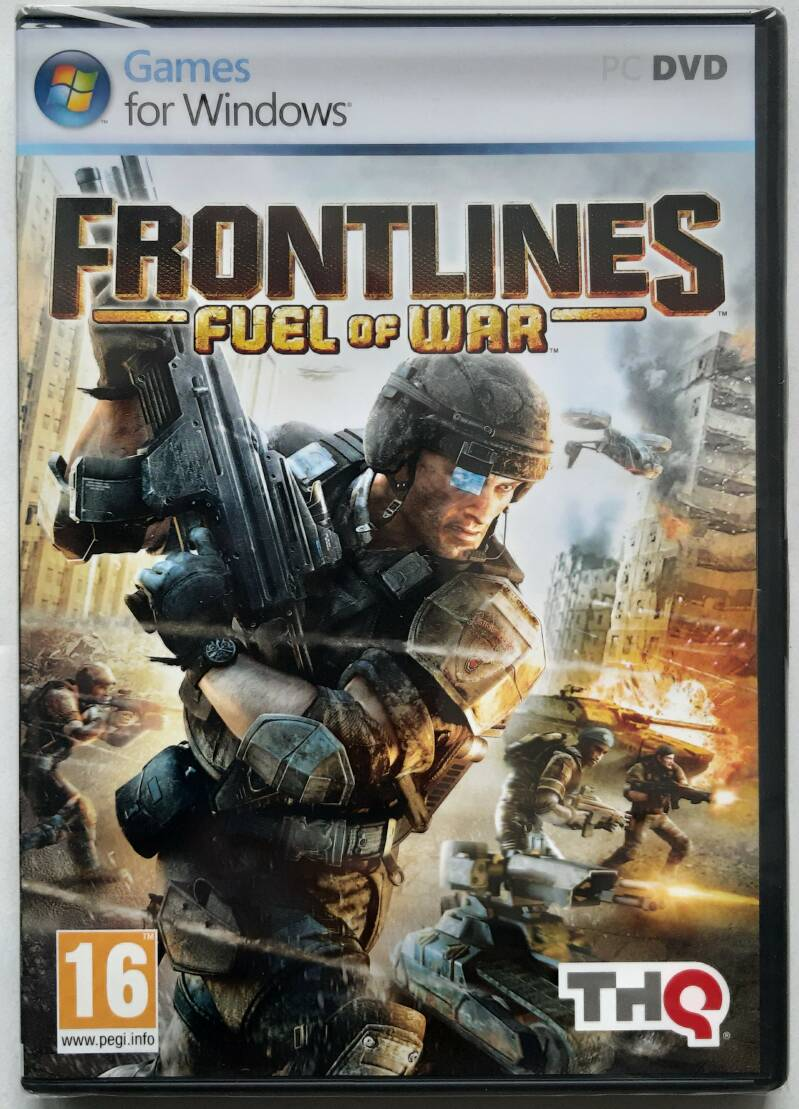 PC - Frontlines: Fuel of War (PAL) factory sealed