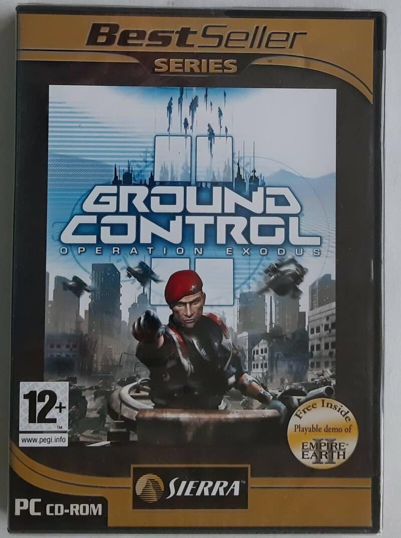 PC - Ground Control II: Operation Exodus (PAL, BestSeller Series) factory sealed
