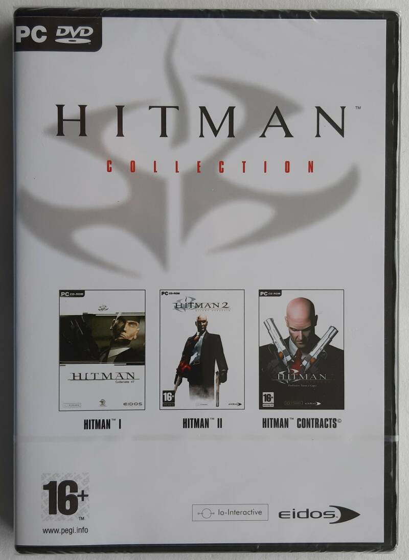 PC - Hitman Collection (PAL) factory sealed