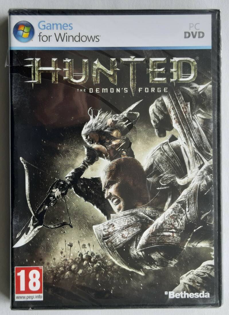 PC - Hunted: The Demon's Forge (PAL) factory sealed