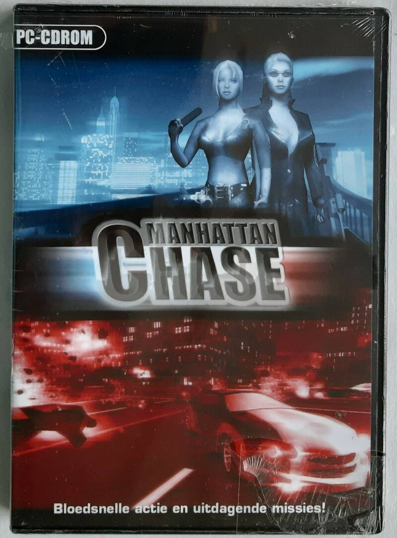 PC - Manhattan Chase (PAL) factory sealed