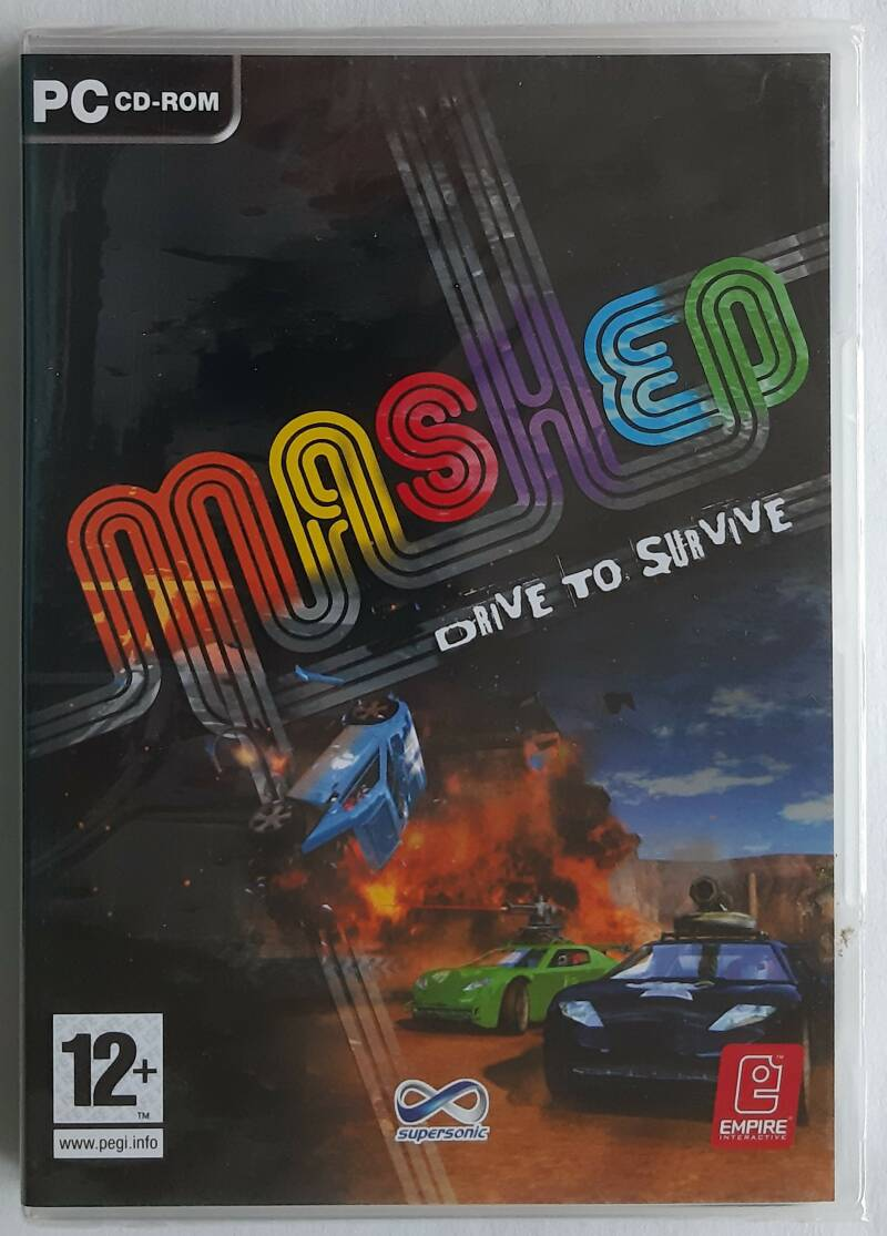 PC - Mashed: Drive to Survive (PAL) factory sealed