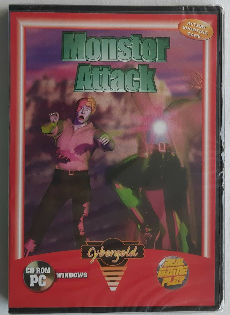 PC - Monster Attack (PAL) factory sealed