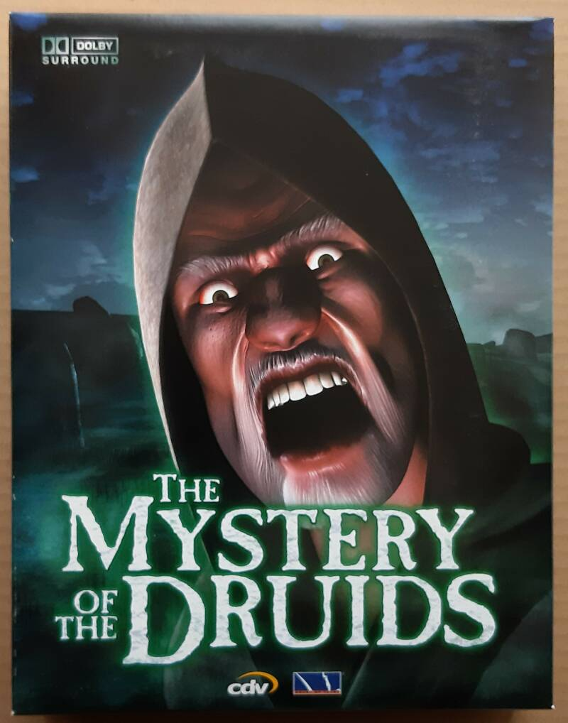 PC - Mystery of the Druids, The (PAL, big box) new unsealed