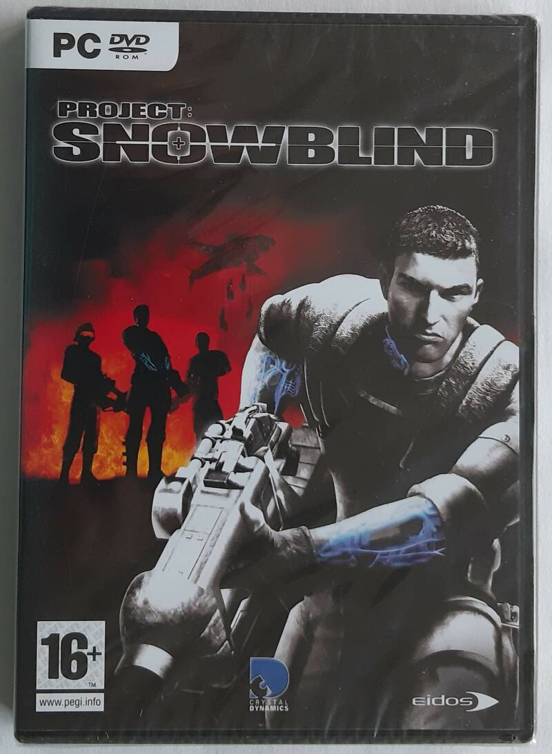 PC - Project: Snowblind (PAL) factory sealed
