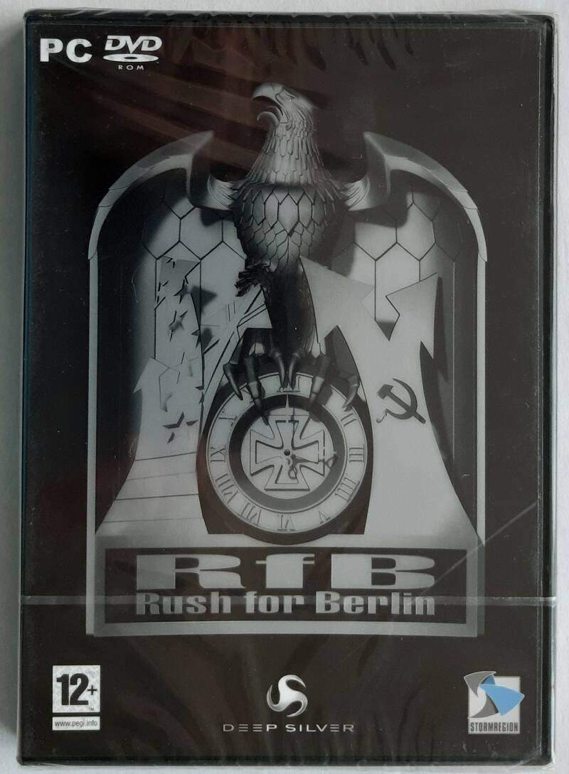 PC - Rush for Berlin (PAL) factory sealed