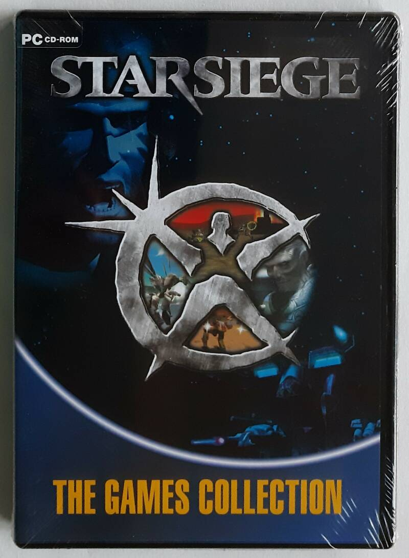 PC - Starsiege (PAL, The Games Collection) shop-sealed
