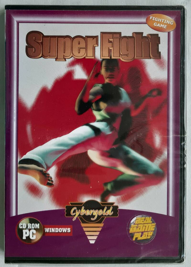 PC - Super Fight (PAL) factory sealed