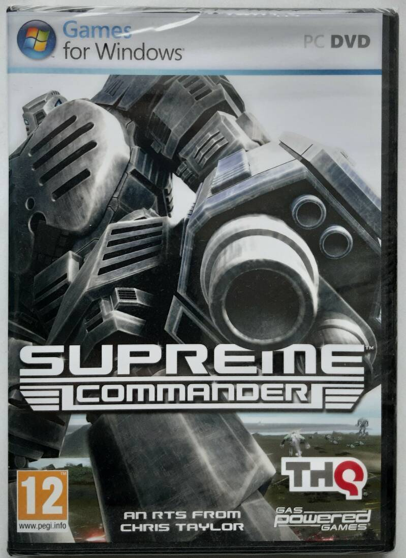 PC - Supreme Commander (PAL) factory sealed