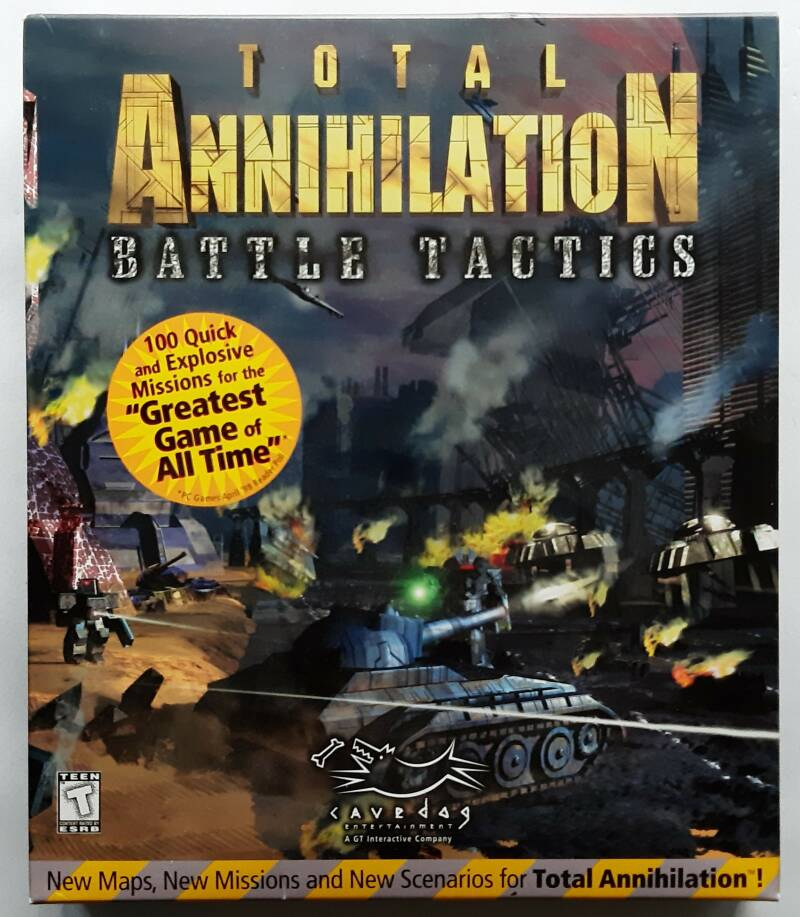 PC - Total Annihilation: Battle Tactics (NTSC, big box) factory sealed