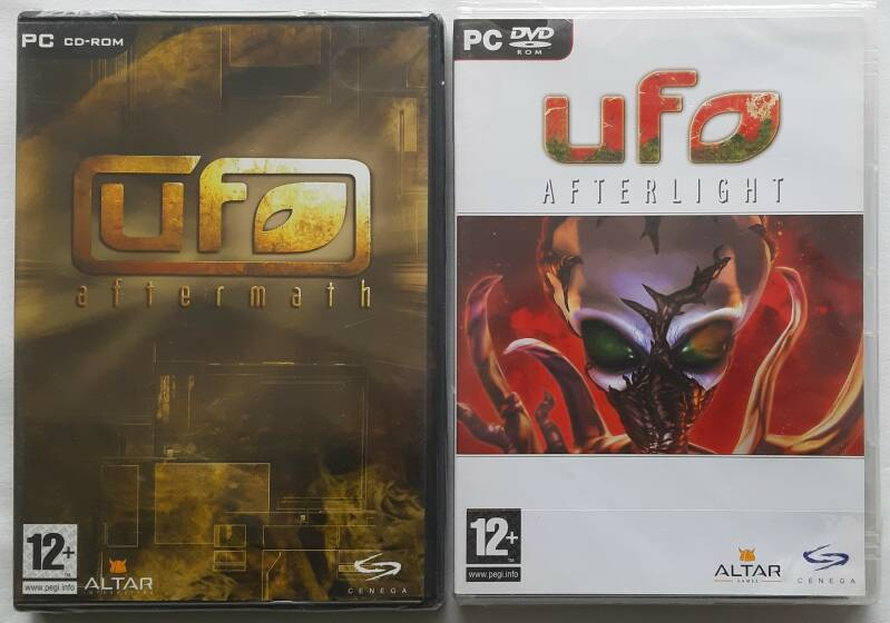 PC - UFO: Afterlight + UFO: Aftermath (PAL) factory sealed