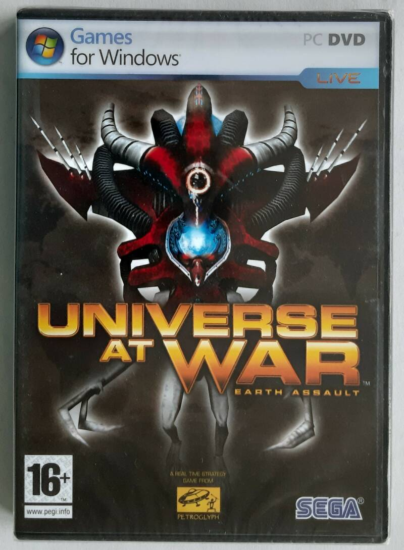 PC - Universe at War: Earth Assault (PAL) factory sealed