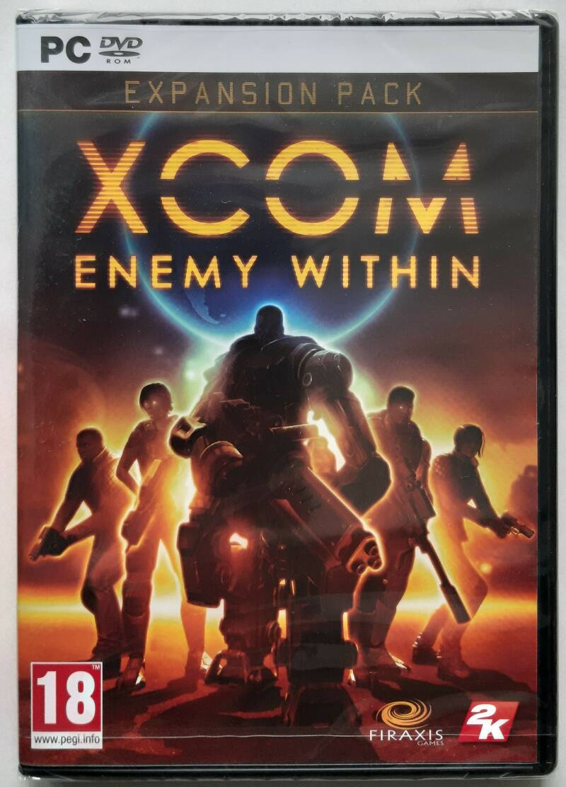 PC - XCOM: Enemy Within - Expansion Pack (PAL) factory sealed