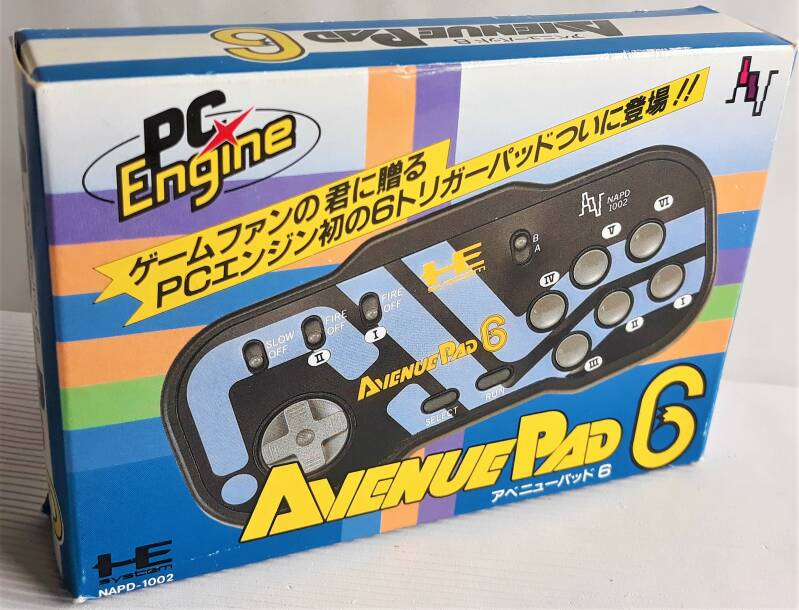 PC Engine - Avenue Pad 6 (NTSC-J) new old stock