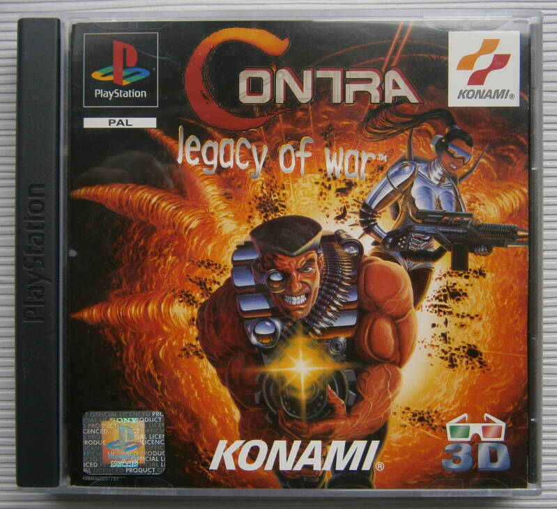 PS1 - Contra: Legacy of War (PAL)
