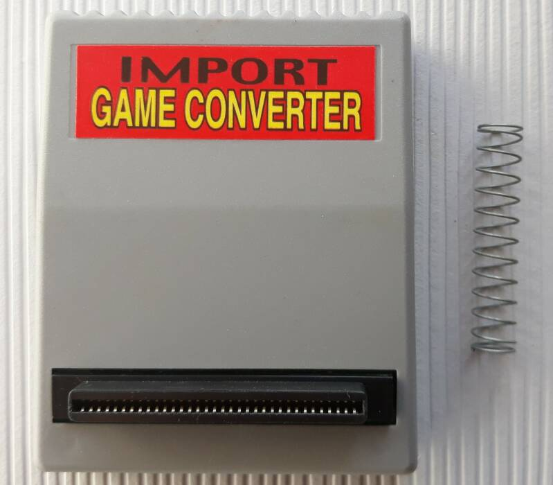 PS1 - Import Game Converter (PAL) cartridge with spring