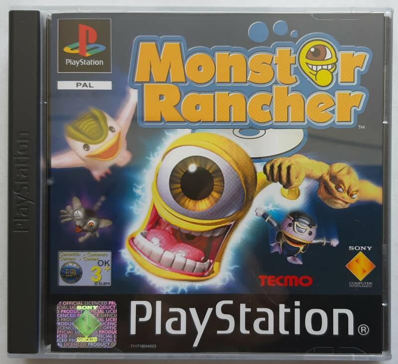 PS1 - Monster Rancher (PAL) new, not sealed