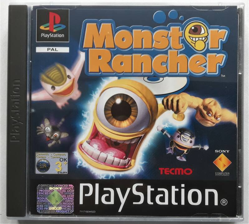 PS1 - Monster Rancher (PAL) new old stock