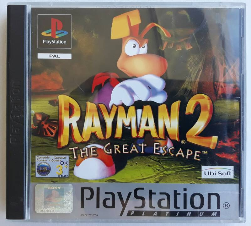 PS1 - Rayman 2: The Great Escape (PAL) Platinum