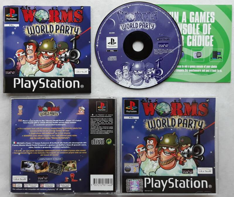 PS1 - Worms World Party (PAL)