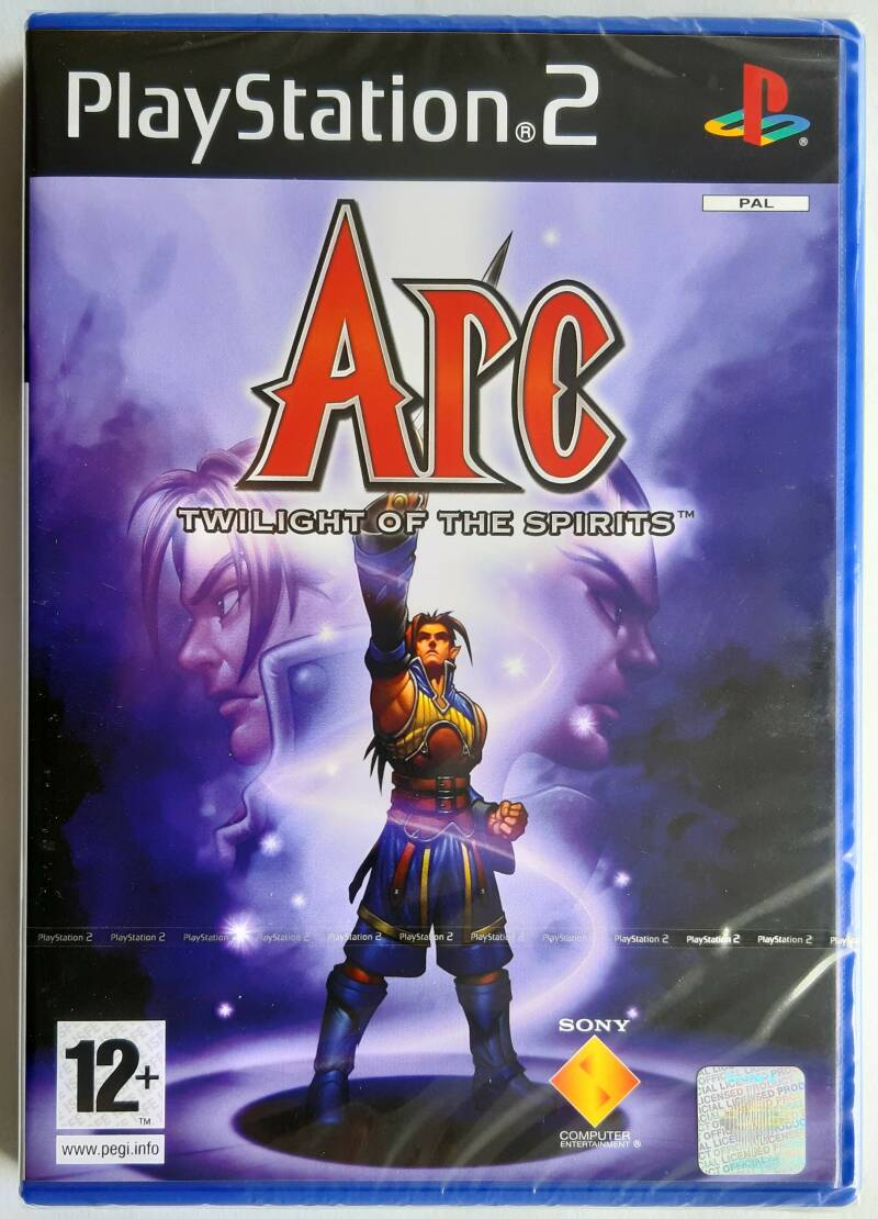 PS2 - Arc: Twilight of the Spirits (PAL) factory sealed