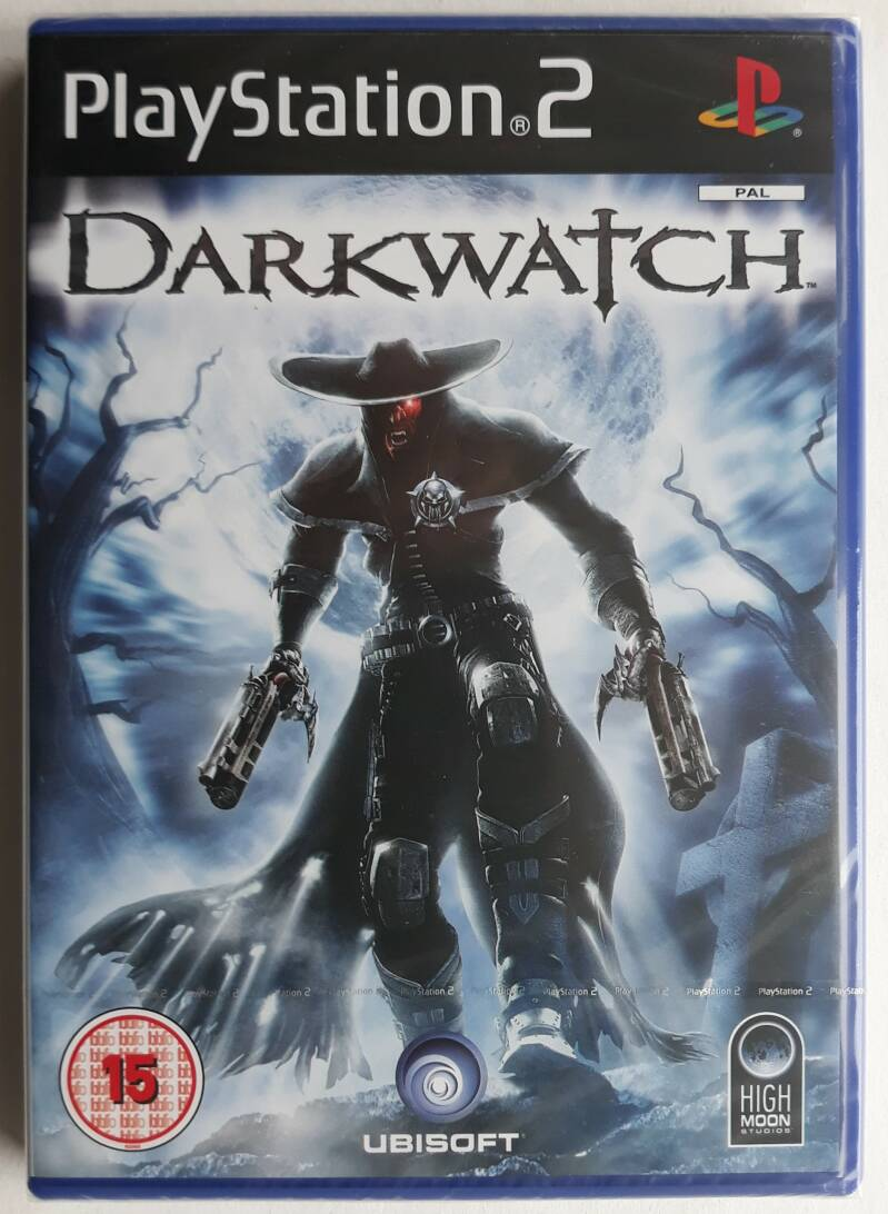 PS2 - Darkwatch (PAL) factory sealed
