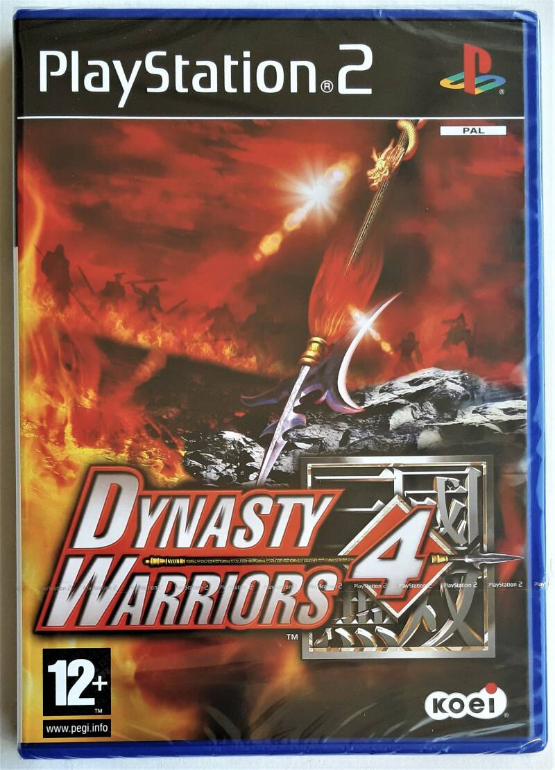 PS2 - Dynasty Warriors 4 (PAL) factory sealed