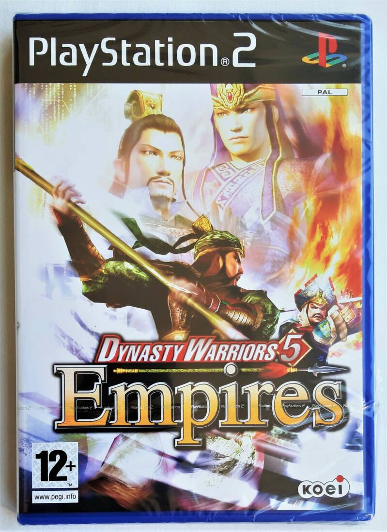 PS2 - Dynasty Warriors 5 Empires (PAL) factory sealed