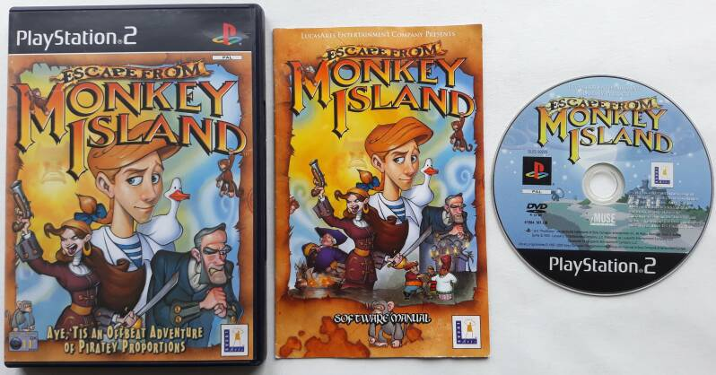 PS2 - Escape from Monkey Island (PAL)