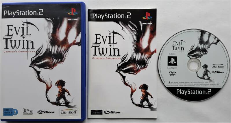 PS2 - Evil Twin: Cyprien's Chronicles (PAL)