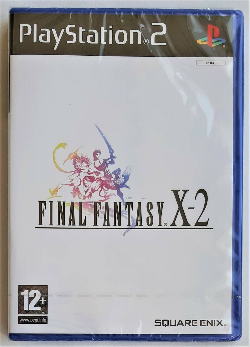 PS2 - Final Fantasy X-2 (PAL) factory sealed