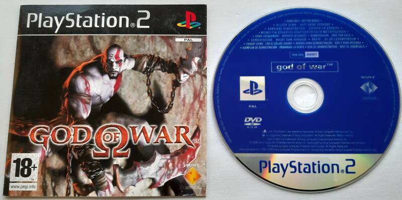 PS2 - God of War - Demo (PAL)