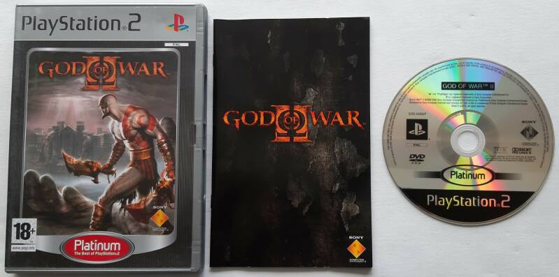 PS2 - God of War II (PAL) Platinum